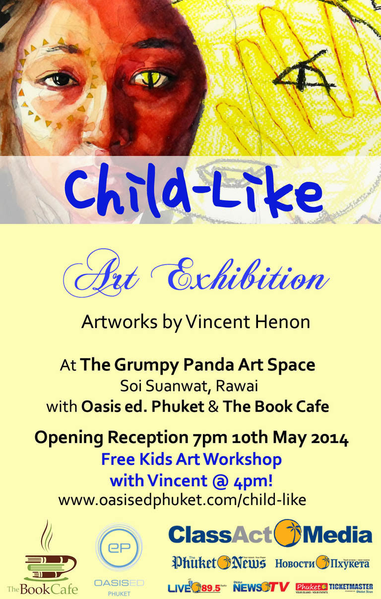 Child Like Art Exhibition