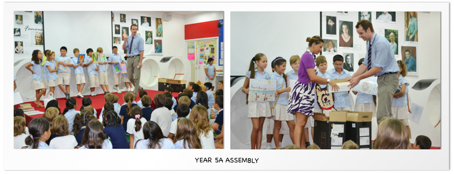 year 5a assembly