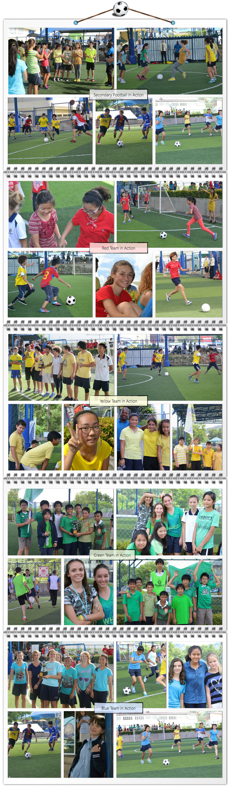 Secondary House Football Pictures