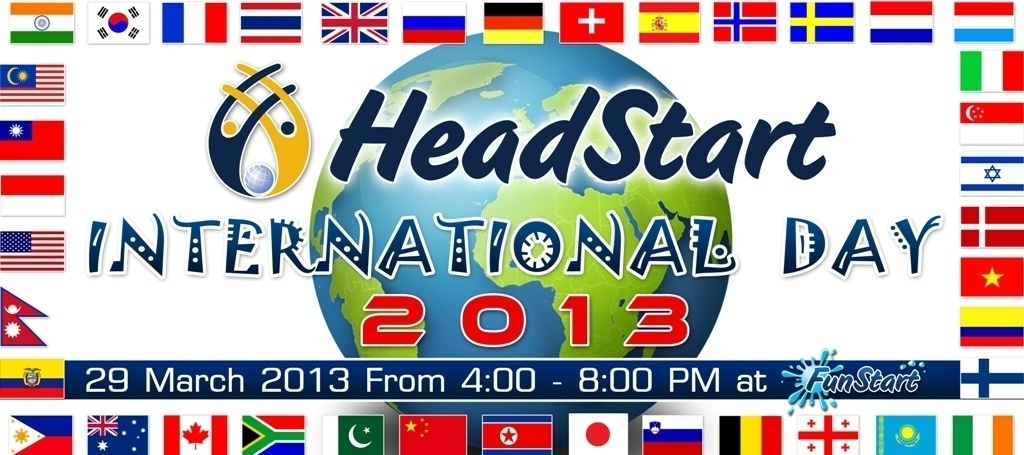 HeadStart International Day 450X200 cm small