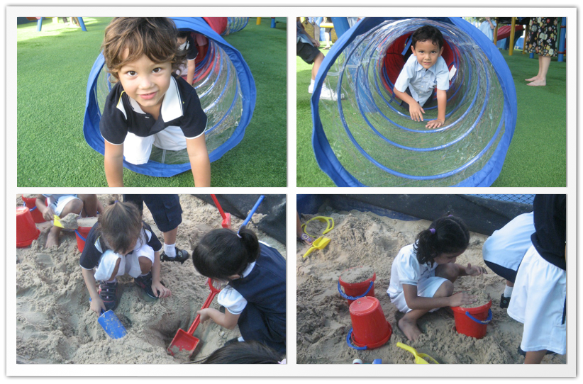 Reception A Outdoor Learning Fun