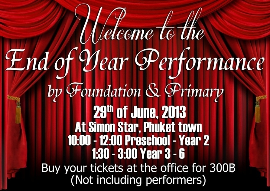 End of year performance poster Web1