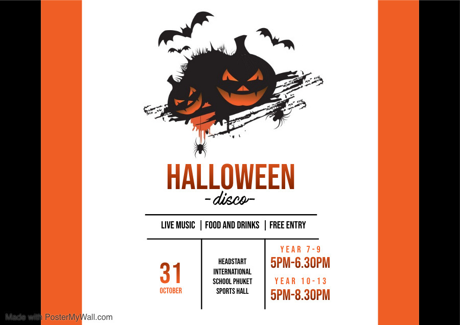 Copy of Halloween Flyer Template Made with PosterMyWall