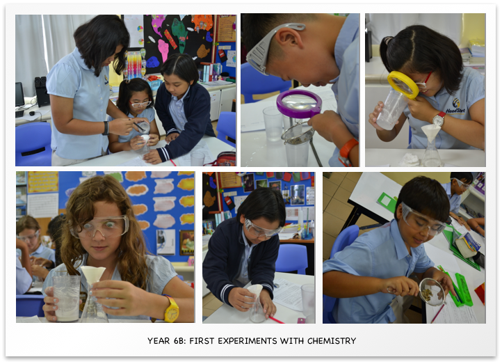 Year 6B First Experiments with Chemistry