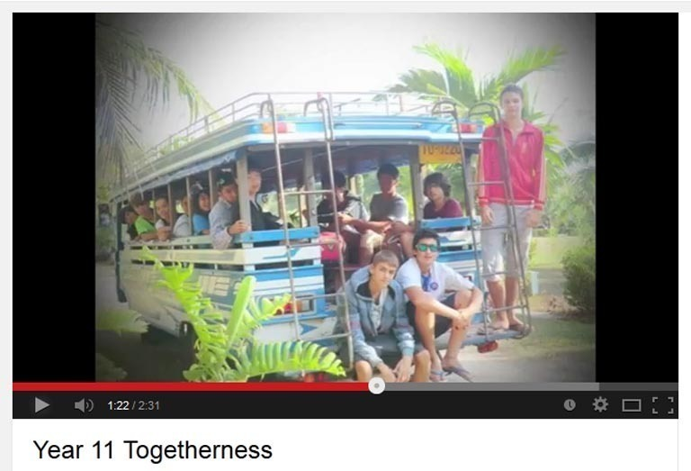 Year 11 Togetherness Video Pic