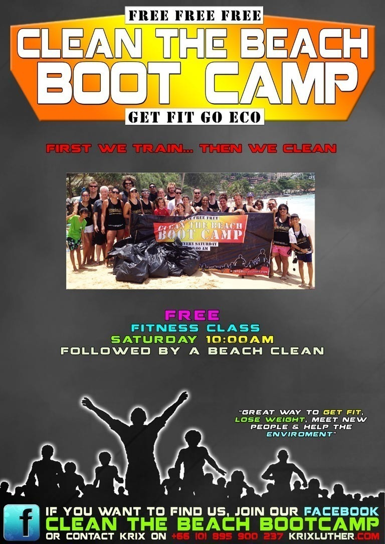 Clean Beach Boot Camp