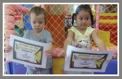 Preschool Student of the Month