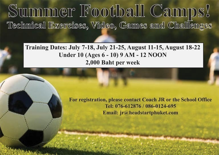 Summer Football Camps