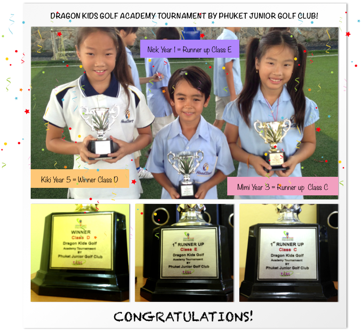 Dragon Kids Golf Academy Tournament1