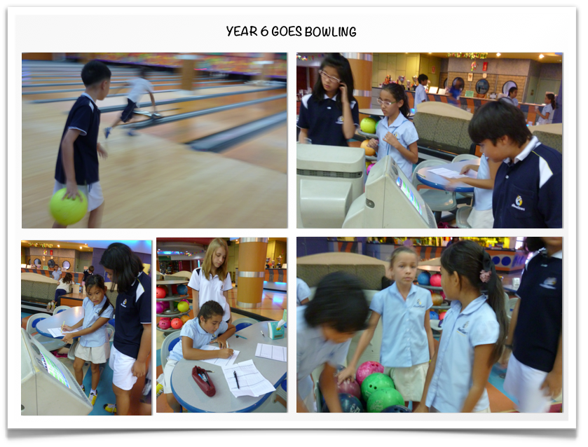 Year 6 Goes Bowling