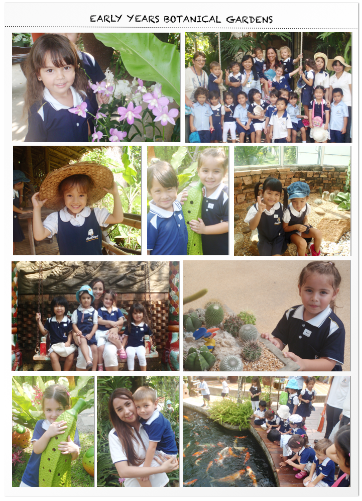 Early Years visits the Botanic Garden From Anisa and Linda