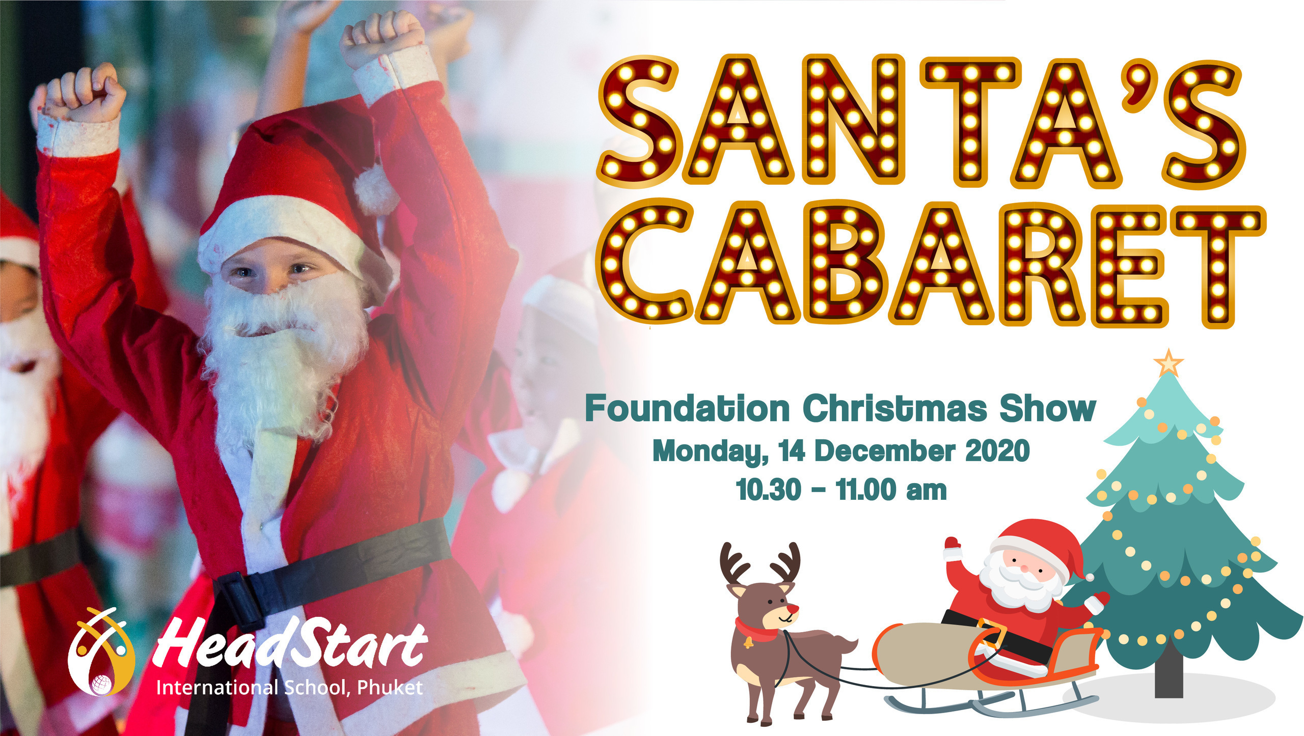 Santa Cabaret Website copy