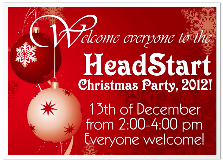 HeadStart X Mas Party