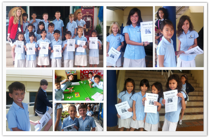 Year 4A Makes a Newspaper