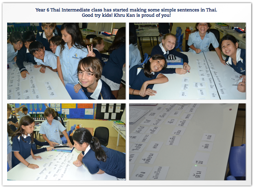 Year 6 Thai Intermediate