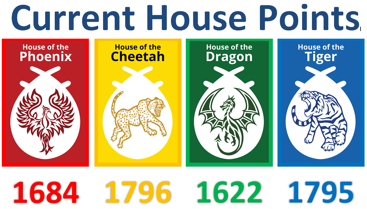 House points 13 October