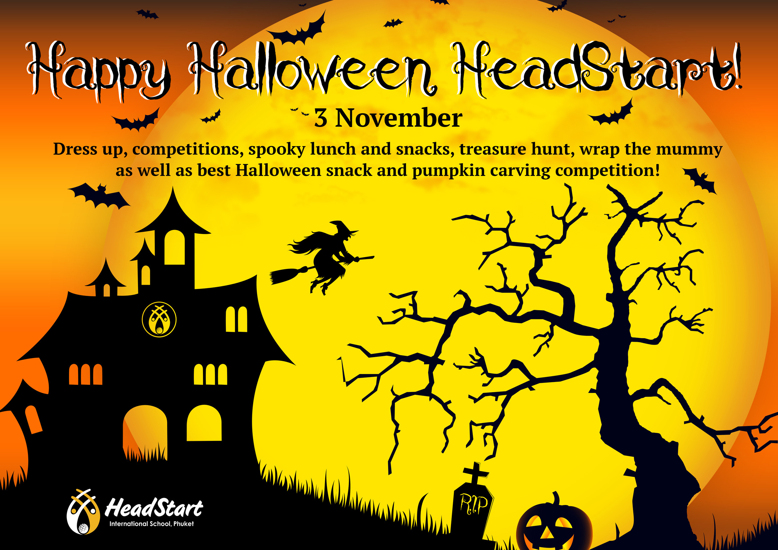 Backdrop for Halloween 04 42 x 29.7 cm