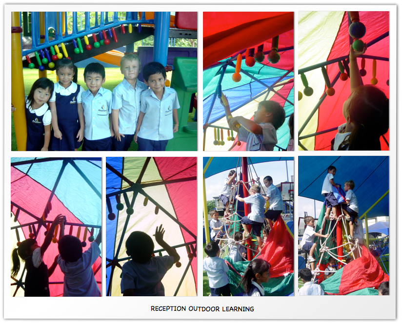 Reception Outdoor Learning1