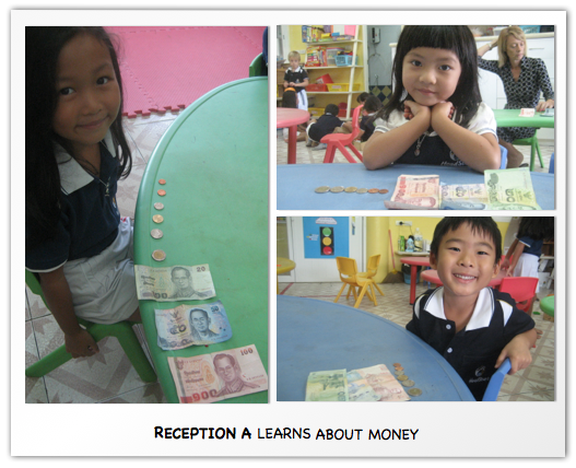 Reception A Learns about Money 2