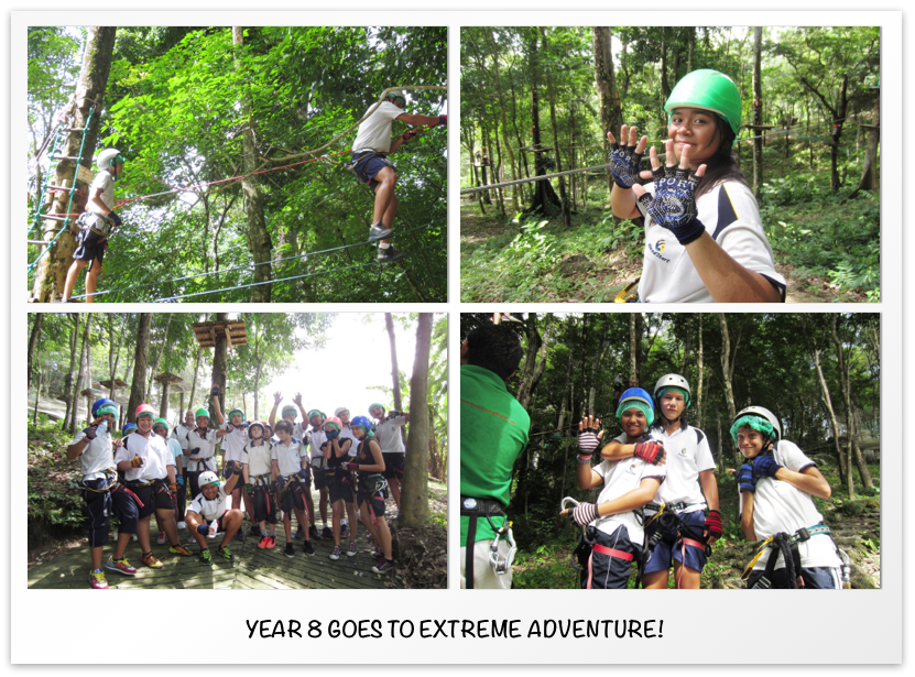 Year 8 goes to Extreme Adventure
