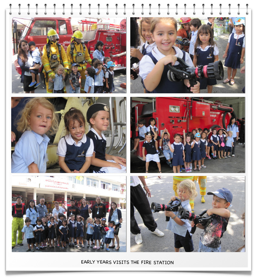 Early Years Visits the Fire Station